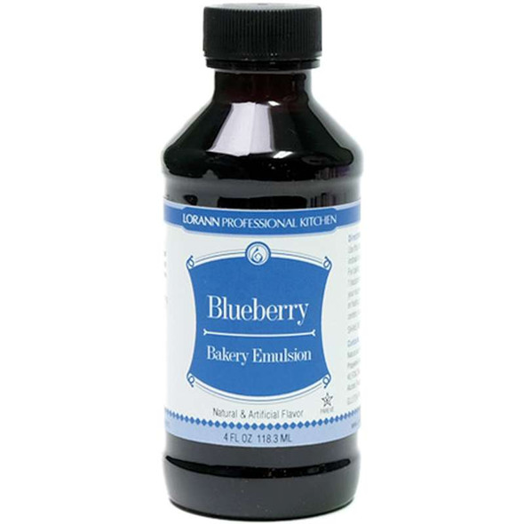 Bakery Emulsions Natural & Artificial Flavor 4oz Blueberry