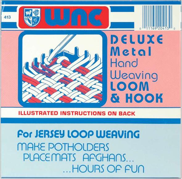 Deluxe Hand Weaving Loom & Hook