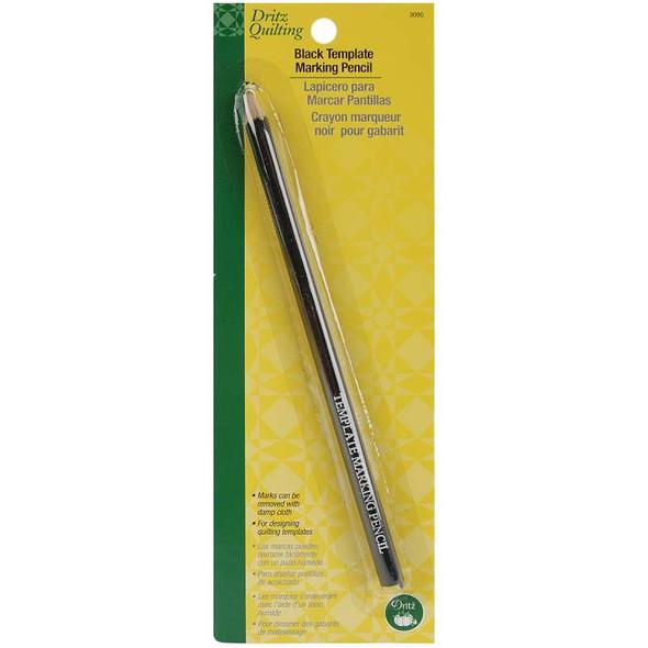 Dritz Quilting Template Marking Pencil Black