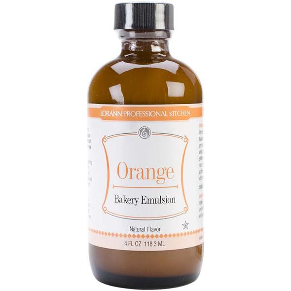 Bakery Emulsions Natural & Artificial Flavor 4oz Orange