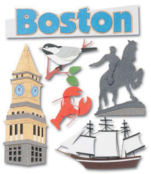 Jolee's Boutique Dimensional Stickers Boston