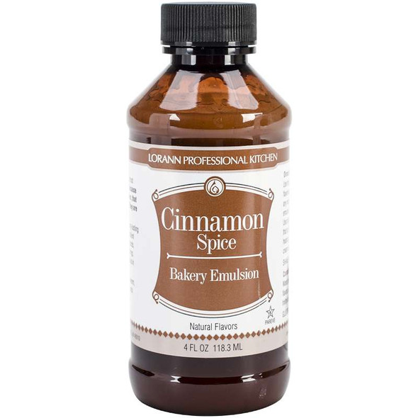 Bakery Emulsions Natural & Artificial Flavor 4oz Cinnamon Spice