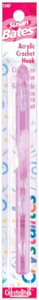 "Crystalites Acrylic Crochet Hook 5.5"" Size P16/11.5mm"