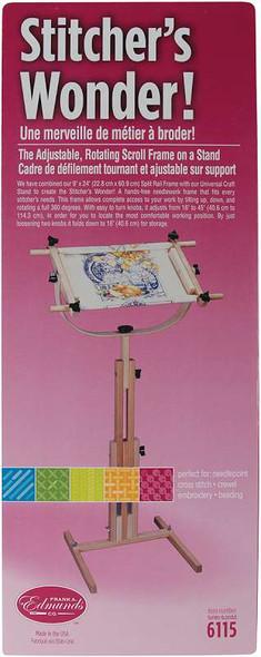 Stitcher's Wonder! Floor Stand Scroll Frame