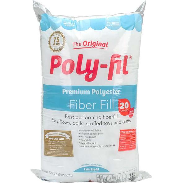 Poly-Fil Premium Polyester Fiberfill 20oz FOB: MI