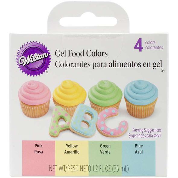Gel Food Coloring Set 4/Pkg Easter