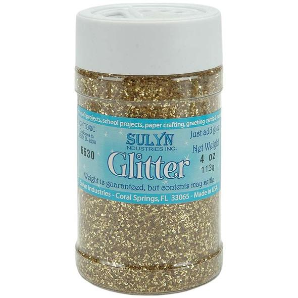Glitter 4oz Gold