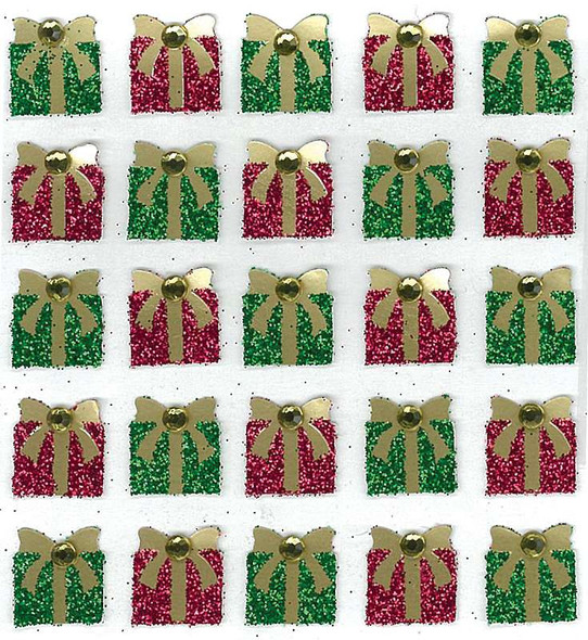 Jolee's Boutique Dimensional Stickers Christmas Present Repeats