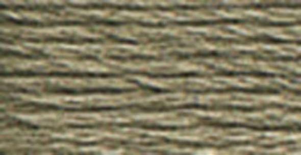 DMC Pearl Cotton Skein Size 5 27.3yd Dark Beaver Grey
