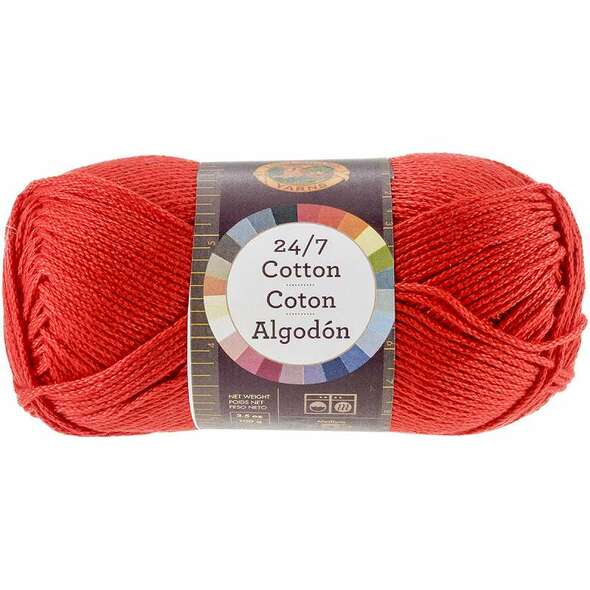 24/7 Cotton Yarn Red