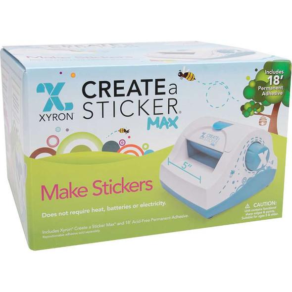 "Xyron 500 Create-A-Sticker Machine 5""X18' Permanent"