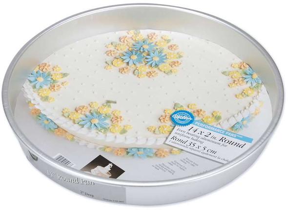 "Performance Cake Pan Round 14""X2"""