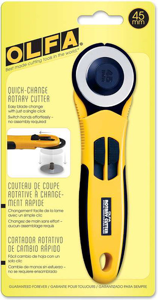 Quick Change Rotary Cutter 45mm