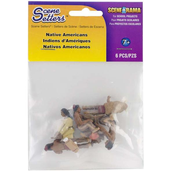 Scene Setters(R) Figurines Native Americans 5/Pkg
