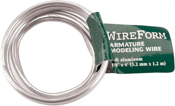 """WireForm Armature Modeling Wire .125""""X4'"""