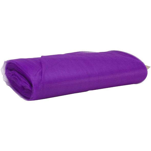"""Nylon Net 72"""" Wide 40yd Bolt Purple"""