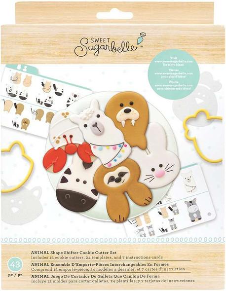 Sweet Sugarbelle Cookie Cutter Set 12/Pkg Shape Shifter - Animal