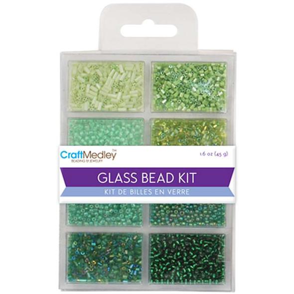 Glass Bead Kit 45g Going Green