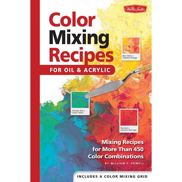 Walter Foster Creative Books Color Mixing Recipes