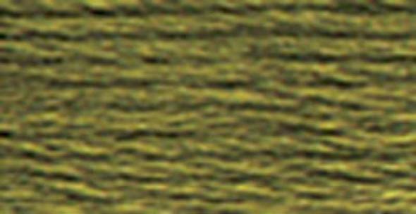 DMC Pearl Cotton Skein Size 5 27.3yd Dark Khaki Green