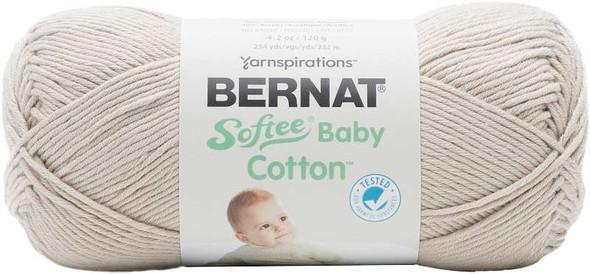 Bernat Softee Baby Cotton Yarn Feather Gray