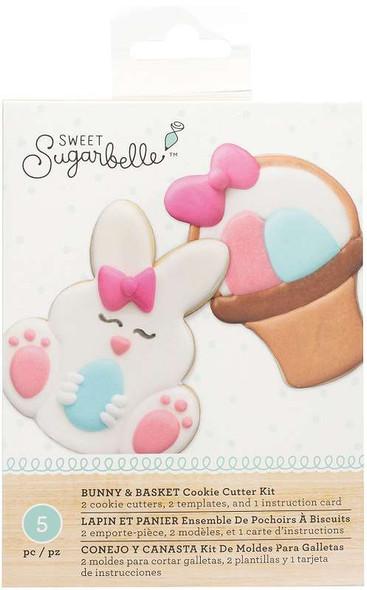 Sweet Sugarbelle Cookie Cutter Kit 5pcs Bunny & Basket