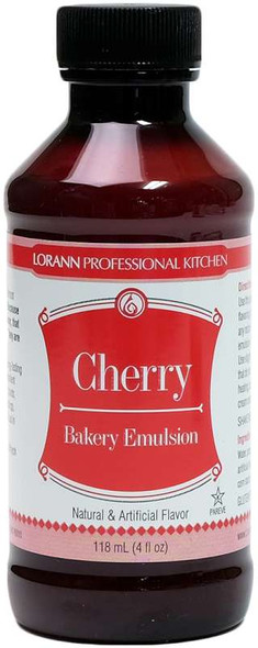 Bakery Emulsions Natural & Artificial Flavor 4oz Cherry