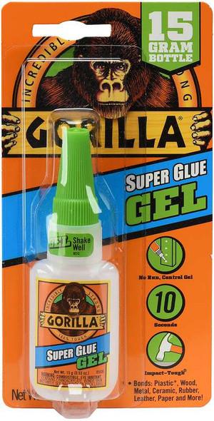 Gorilla Super Glue Gel  .53oz