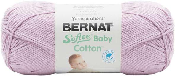 Bernat Softee Baby Cotton Yarn Soft Plum