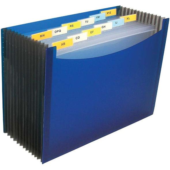 13-Pocket Expanding File Blue
