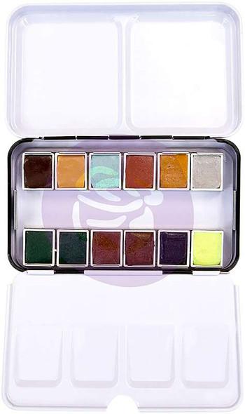 Prima Watercolor Confections Watercolor Pans 12/Pkg Essence
