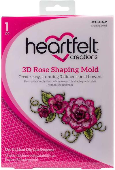 Heartfelt Creations Shaping Mold 3D Rose