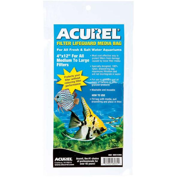 "Acurel Filter Lifegaurd Media Bag 4""X12"""