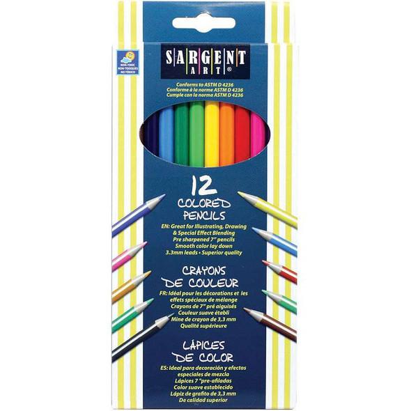 Colored Pencils 12/Pkg