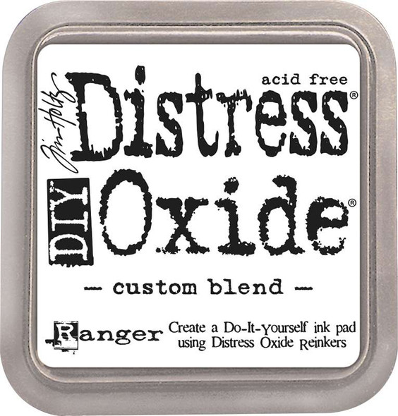 Tim Holtz DIY Distress Oxide Ink Pad Custom Blend