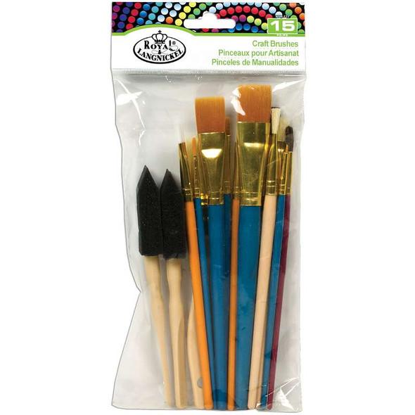 Craft Brush Set 15/Pkg