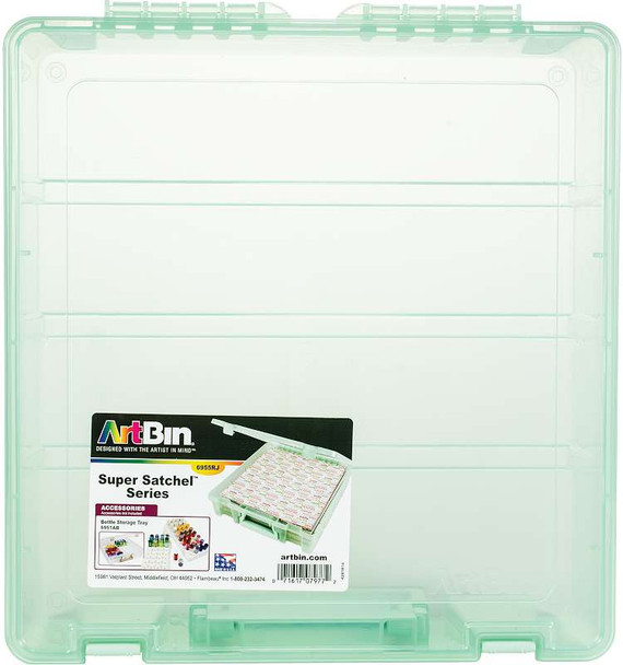 "Artbin Super Satchel Single Compartment  Mint, 15.25""X14""X3.5"""