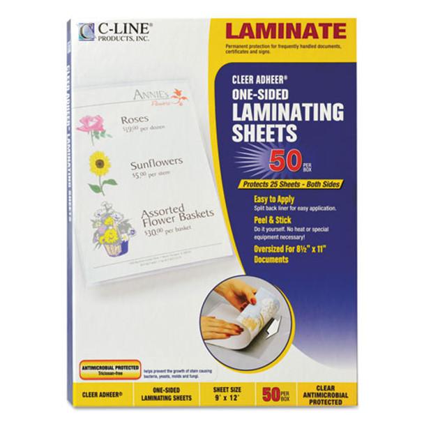 C-Line Cleer Adheer Self-Adhesive Laminating Film - CLI65009