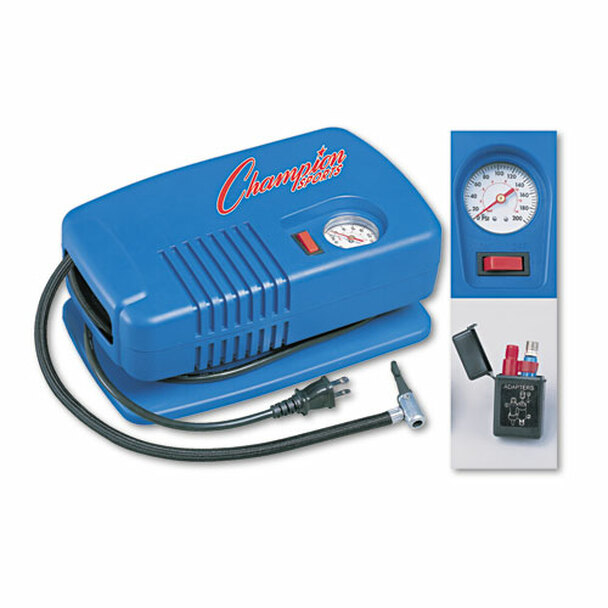Champion Sports Electric Inflating Pump, Inflating Needles