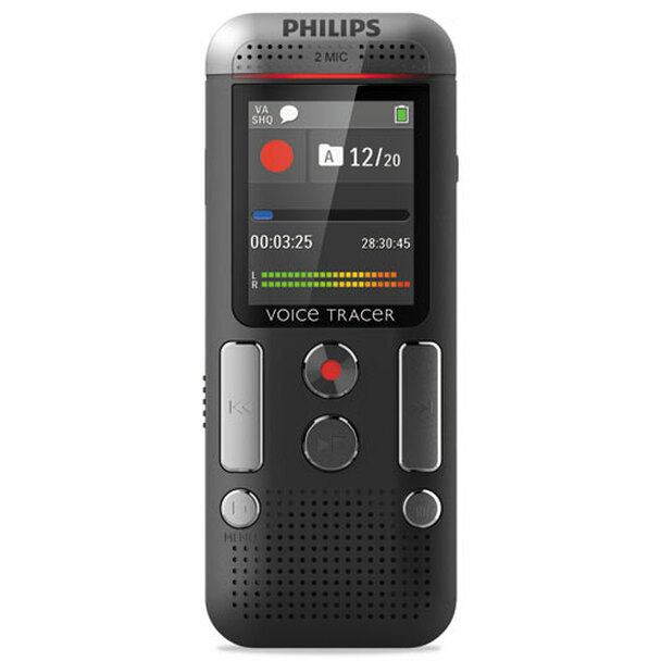 Philips Voice Tracer 2500-2510 Digital Recorder