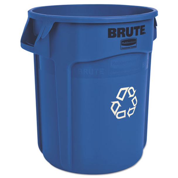 Rubbermaid Commercial Brute Recycling Container - RCP262073BLU