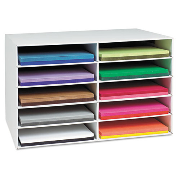 Pacon Classroom Keepers Construction Paper Storage Box