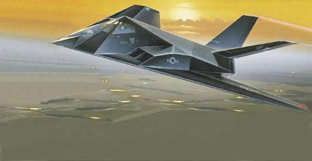 F-117 Stealth, 1/72 by Italeri, Model Airplane