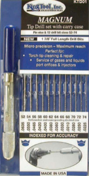 King Tool Magnum Tip Drill Set