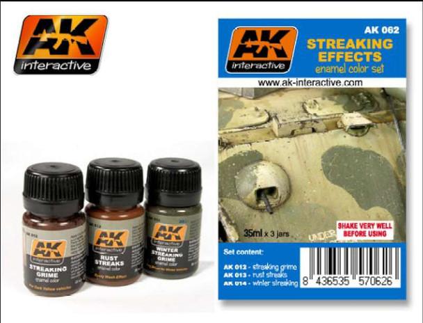 AK Interactive Streaking Effects Set #AK062