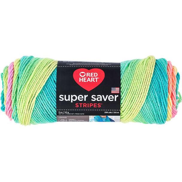 Red Heart Super Saver Yarn Retro Stripe