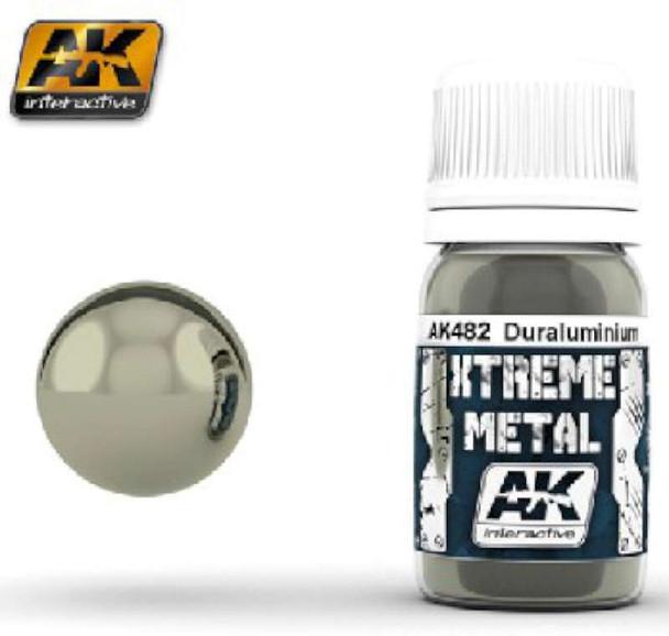 AK Interactive Xtreme Metal Duraluminum Metallic Paint -- Hobby and