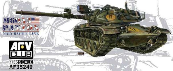 AFV Club M60A3 Patton Tank -- Plastic Model Military Vehicle Kit --