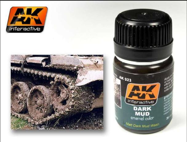 AK Interactive - Dark Mud Effect #023