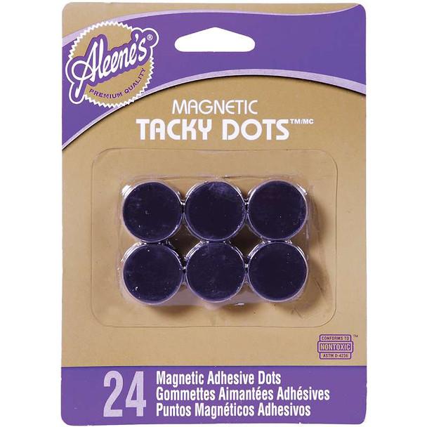 "Aleene's Magnetic Tacky Dots .75"" 24/Pkg"